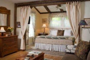 Allen Suite Bedroom at West Hill House B&B