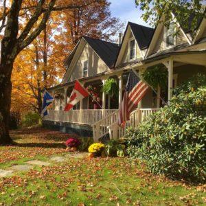 Fall Foliage at West Hill House B&B