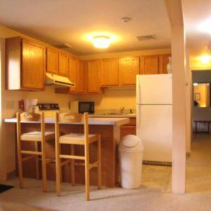 Queen Suite Kitchen