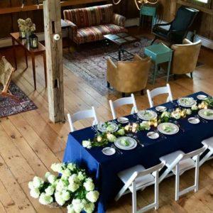 Micro wedding at the Barn Door Club