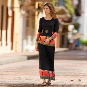 Bandhani shirt and skirt