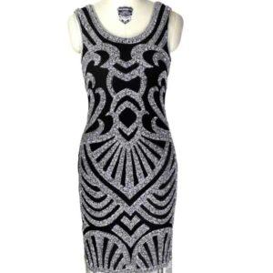 Silver_on_Black dress