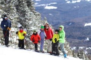 kids ski at Sugarbush
