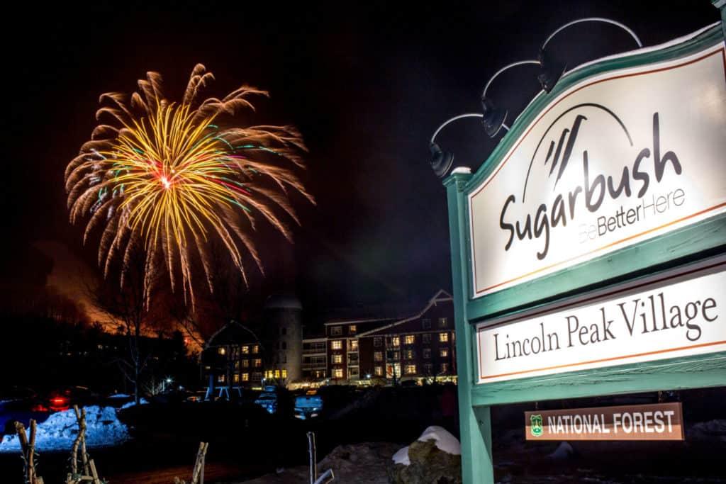 fireworks at Sugarbush