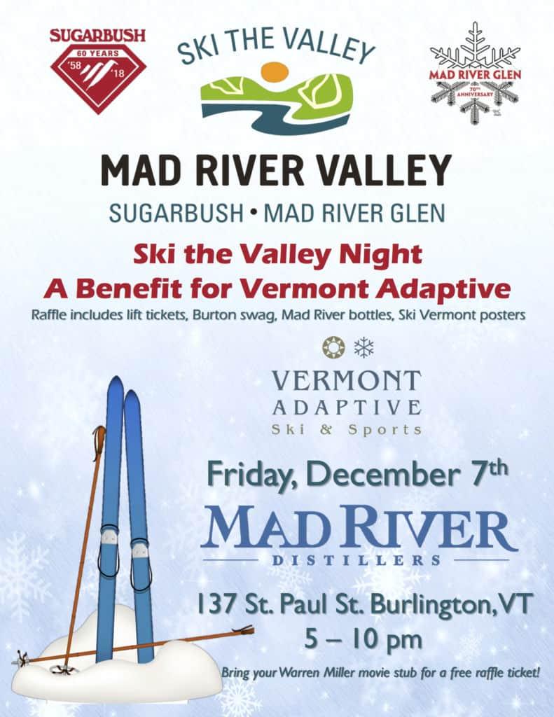 Ski the Valley night in Burlington Vermont