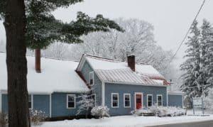 Swanson Inn in the winter