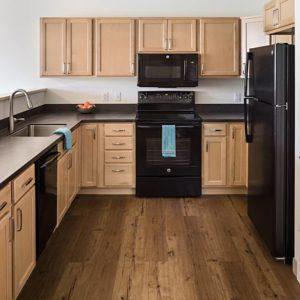 15 1-Bedroom Unit Kitchen