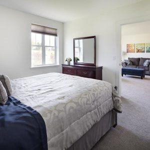 16 1-Bedroom Unit Bedroom