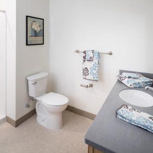 17 1-Bedroom Unit Bath