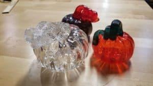 Hand-blown Glass Pumpkins