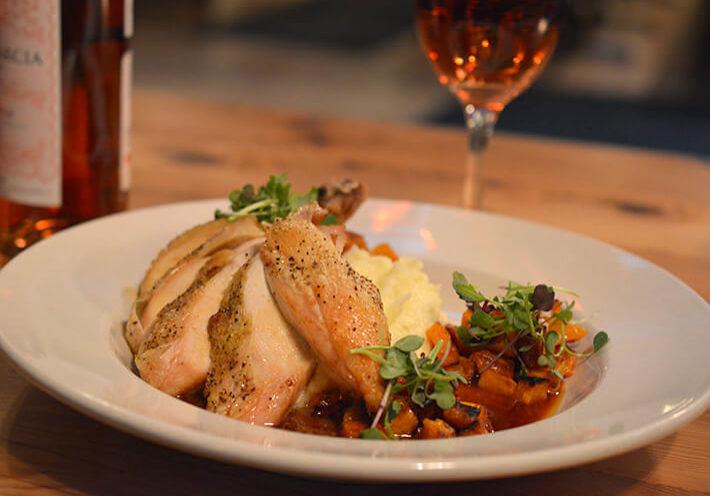 Hyde Away Restaurant - Vermont Chicken Plate